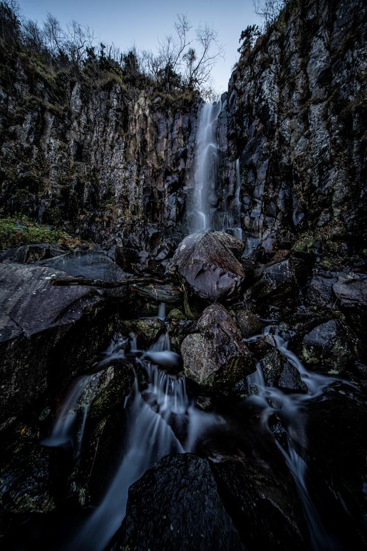 白老滝 初心者 沢登りイワナ沢の滝