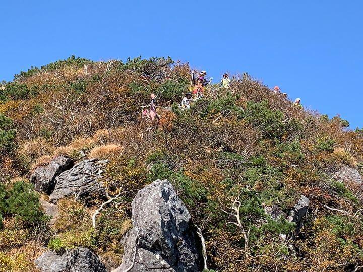 白老 ホロホロ山 登山