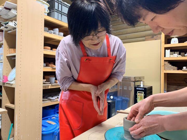 白老 輪果窯 陶芸体験