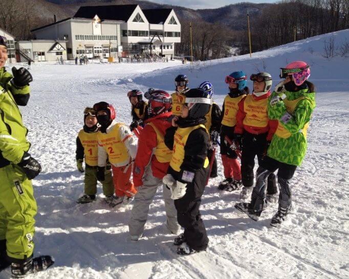 サンライバスキー場 ジュニアスキーチーム