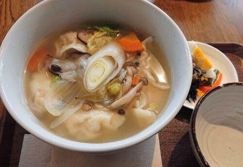 白老 カフェ ラナピリカ 水餃子 中国茶カフェ