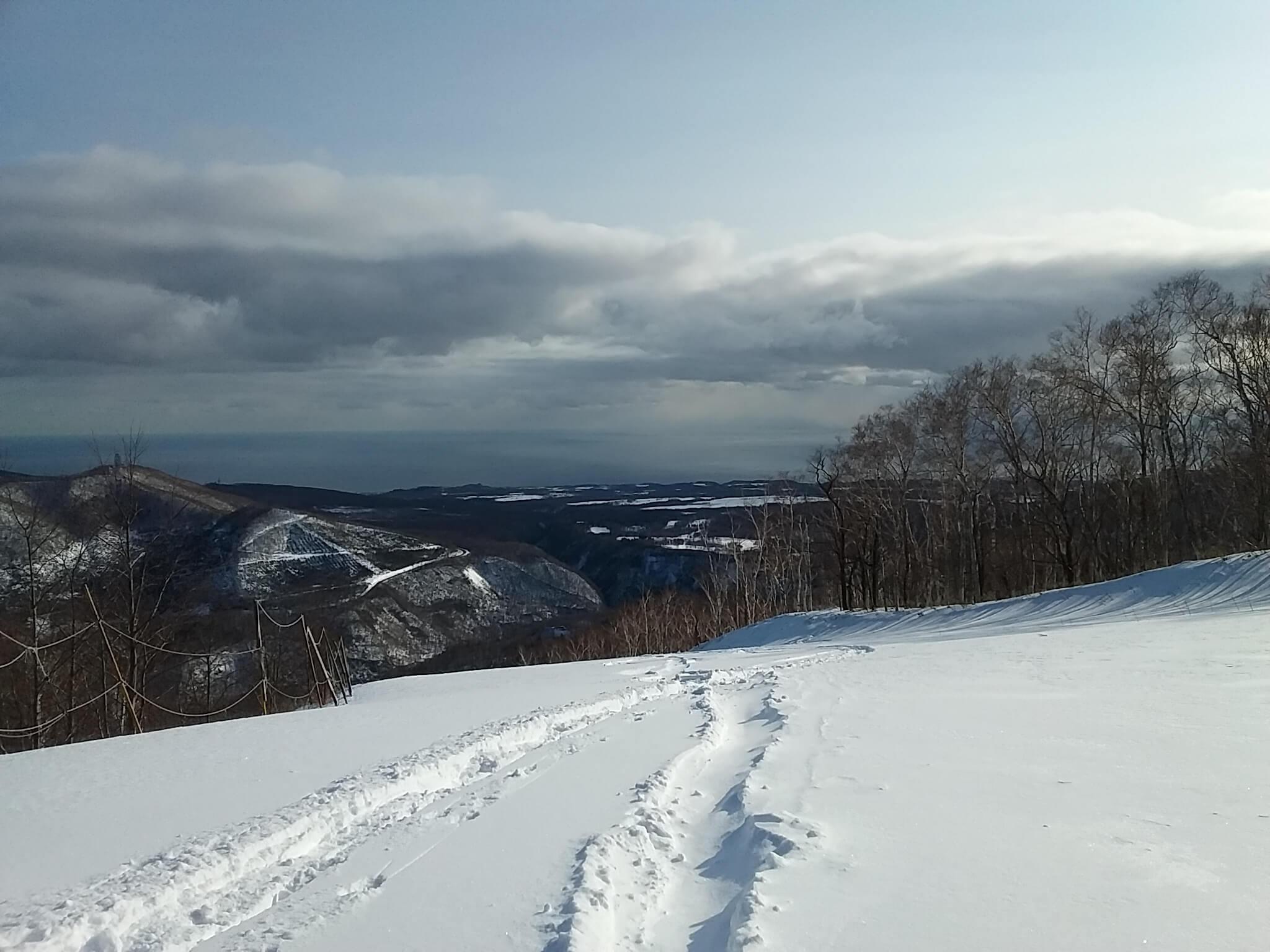 白老近郊 スキー 登別市 サンライバスキー場