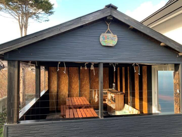 白老 貸別荘 齊 源泉かけ流し 温泉 日本家屋