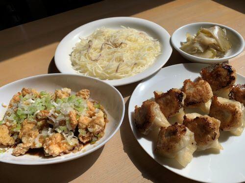 白老 中華食堂 杏 餃子 テイクアウト オードブル クーポン ランチ メニュー