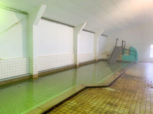 白老 虎杖浜温泉ホテル 源泉かけ流し ぬくもりの湯 朝風呂 休憩所 プール