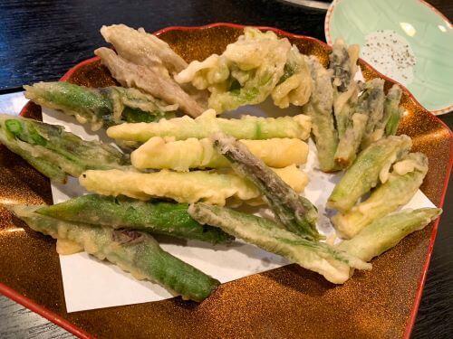 白老 ファミリー居酒屋 河庄 山菜料理 きのこ鍋 白老ディナー 地元料理