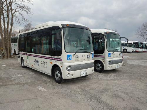 白老 コミュニティバス 交流促進バス 元気号 デマンドバス