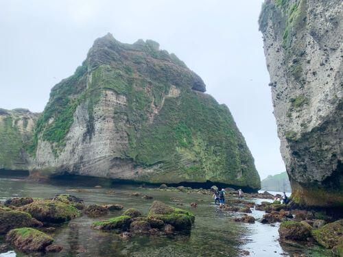 白老近郊 室蘭 イタンキ海蝕洞 イタンキ浜 鳴砂海岸