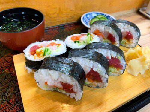 寿司 つしま 生太巻き