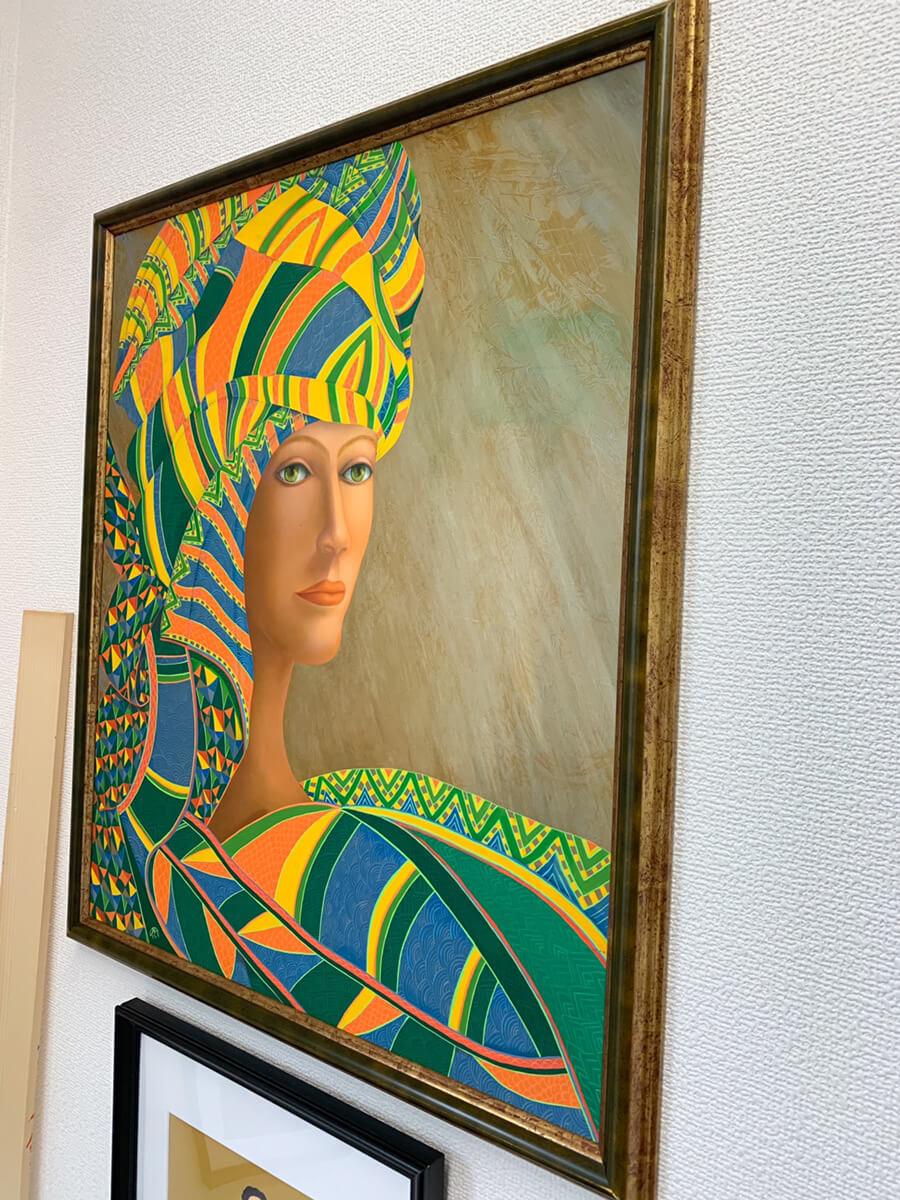 白老 小野寺マリレ アトリエ 絵画 ファンタジーリアリズム