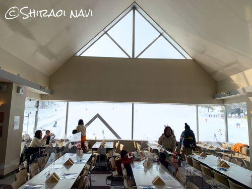 登別 カルルス温泉 サンライバスキー場 レストラン