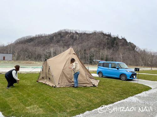 白老キャンプフィールド ASOBUBA