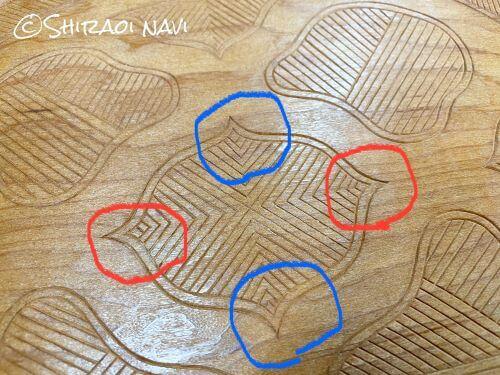 ウポポイ 木彫体験 スマホスタンド アイヌ文様 白老